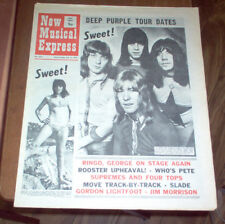 NME Magazine 1971 Jim Morrison Obituary The Who Slade The Move Marmalade Mott