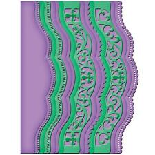 Spellbinders Borderabilities Die ~ A2 SCALLOPED BORDERS TWO ~S5-202~Card Creator