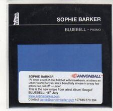 (DK663) Sophie Barker, Bluebell - 2011 DJ CD