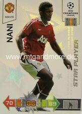 Adrenalyn XL Champions League 10/11 nani Star Player