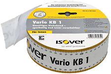 Isover Vario KB1 60mm x 40m Klebeband f. luftdichte Dämmung Dampfbremsen NEU