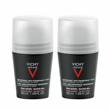 VICHY HOMME 72HR EXTREME ANTI-PERSPIRANT ROLL ON 2x50 ml SPECIAL PRICE