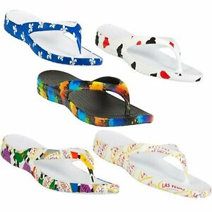 DAWGS Men's Sandals Thongs Flip Flops W/ Arch Support - TONS OF COLORS & SIZES
