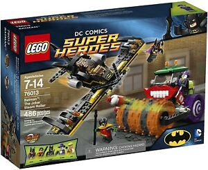 LEGO 76013 Super Heroes Batman: The Joker Steam Roller - MISB