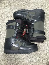 Nike Zoom Force 1 ZF1 Men's snowboarding boots 334841-302 Black Green Sz 8.5