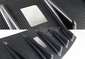 For Mitsubishi Lancer EVO 10 Vortex Carbon Style Shark Fin Rear Roof Spoiler