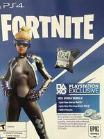 Fortnite Neo Versa Skin + 500 V-Bucks Redeem it Today  (Playstation 4 )