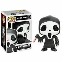 Funko Pop Ghost Face#51 --The Movie Scream Horror Ghostface Vinyl Figure