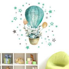 Hot Air Balloon Rabbit PVC Sticker Wall Sticker Wallpaper Living Room Decoration