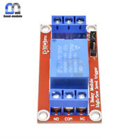 12V 1 channel relay module with optocoupler isolat High and low level trigger