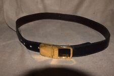 cintura vintage marrone Gucci Lung. cm. 90 tot. V4 ^
