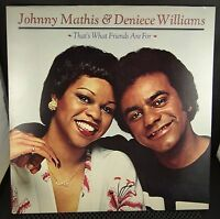 Johnny Mathis Deniece Williams - That's What Friends Are For (JC 35435 Stereo)