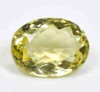 63.95 Ct. Untreated Yellow Topaz Germany Clarity Oval Shape Rare Gemstone F0924