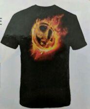 Hunger Games Movie T-shirt Burning Mocking jay Size -XL- New in Box