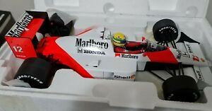 1:12 Ayrton Senna 1988 World Champion MP4-4