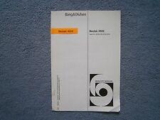 Bang & Olufsen Beolab 4500 Service Manual