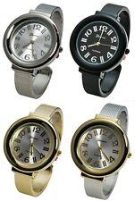Blekon Collections Japanese Qrtz Women's 27mm Alloy Case Metal Cuff Bangle Watch