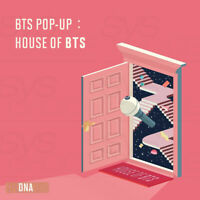 BTS POP-UP HOUSE OF BTS Official Goods MD DNA Ver + Tracking Number