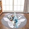 Baby Kids Game Gym Activity Play Mat Soft Cotton Crawling Blanket Floor Rug BP