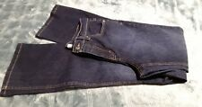 JACLYN SMITH Womens Boot Cut Jeans Size 8 Dark Wash Indigo Blue Color