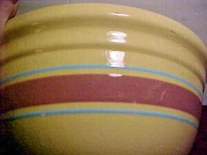Large, Vintage Pottery Mixing Bowl USA