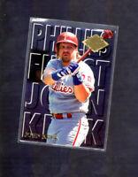 1994 Fleer Ultra Baseball Phillies Finest #9 John Kruk Philadelphia Phillies