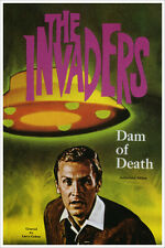Alien Invaders Vintage Science Fiction and Fantasy Sci Fi Book Cover Art Poster
