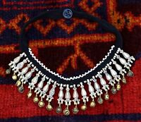 Afghan Kuchi Tribal Necklace Choker Collar Ethnic Boho Vintage Gypsy Bib Jewelry
