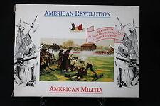 XJ135 ACCURATE FIGURES 1/72 figurine 7201 AMERICAN REVOLUTION American militia