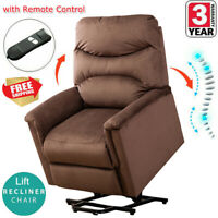 Electric Power Lift Recliner Living Room Arm Chair Leisure Single Sofa Padded