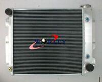 4 Row for Jeep Wrangler TJ YJ V8 Conversion Aluminum Radiator 1987-2002 88 89 90