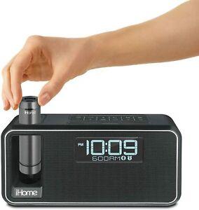 iHome iKN105BC Dual Charging Bluetooth Stereo Alarm Clock Radio/Speakerphone
