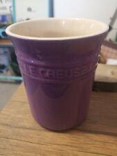 Le Creuset Purple Utensil Pot