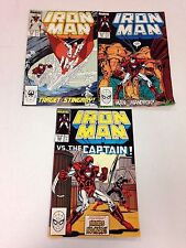 Iron Man #226 January 1988 227 228 229 230 231 6 consecutive issues