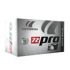 320500 CORNILLEAU Pro 72 Table Tennis Balls White