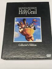 Monty Python and the Holy Grail Collectors Edition Dvd w/ Screenplay & Film Cell