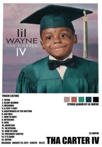 Lil Wayne - Tha Carter IV Poster Unframed