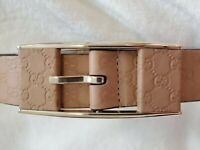 Gucci GG Men's Brown Leather Belt - Size 40