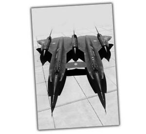 "secret project A12R Double headed eagle black bird Photo Size ""4 x 6"" inch δ"