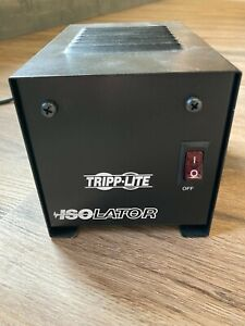 Tripp Lite IS250 Isolation Transformer 250W Surge 120V 2 Outlet 6 feet Cord