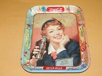 VINTAGE OLD BAR RESTAURANT  1950S DRINK COCA COLA HAVE A COKE METAL SERVING TRAY