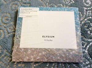 PET SHOP BOYS. ELYSIUM CD ALBUM DIGIPAK NEW AND SEALED. H1