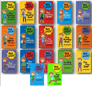 Hey Jack 1-17 Best Party Ever, Big Adventure+by Sally Rippin (17 Paperbacks) NEW