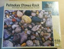 Petoskey Stones Rock Puzzle 550 pieces 18 x 24 in Stones Jigsaw Puzzle New