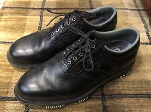 Footjoy Dryjoys Tour Golf Shoes 9uk Wide, Black