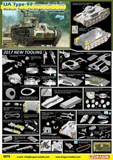 "Dragon 1/35 IJA tipo 97 tanque medio ""CHI-HA"" Early Producción #6870"