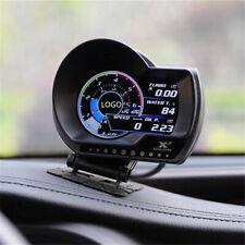 Car OBD2 Digital Real-time Monitoring Turbo Boost Oil Pressure Gauge Speed Meter