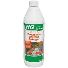 HG 1 L Terrassenplatten Reiniger Betonstein ergibt 5 Liter Klinker Waschbeton