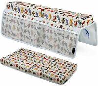 "Baby Bath Kneeler&Elbow Rest Pad Set 1.5"" Memory Foam Pad XL Pockets & Storage"