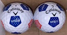 New listing Callaway Chrome Soft 2020 Truvis USA Golf Balls